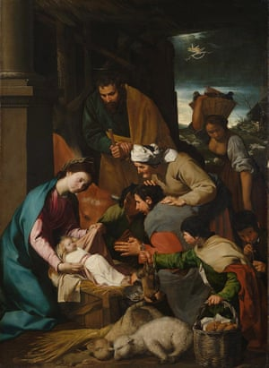 The Adoration of the Shepherds.