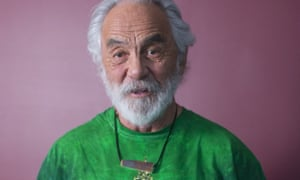 Tommy Chong portrait session, Toronto, Canada