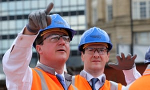 George Osborne (right, with David Cameron)