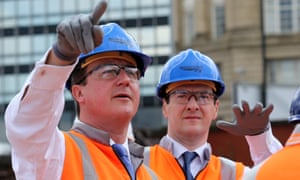 David Cameron and George Osborne launch the northern powerhouse in Manchester