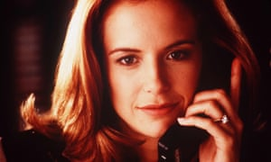 'An aria of discontent' ... Kelly Preston in Jerry Maguire in 1996.
