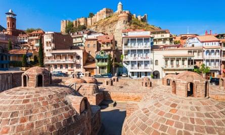 Abanotubani in Tbilisi