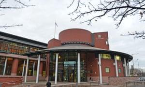 Hillsborough disaster court case building