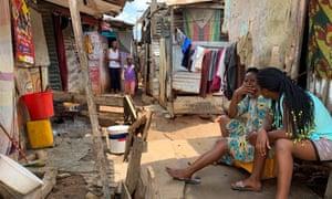 Life in the Povoado slum in Luanda, Angola