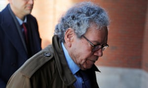 John Kapoor arrives at the federal courthouse in Boston, Massachusetts on 28 January.