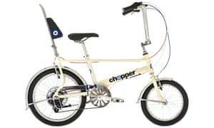 Easy rider: the Raleigh Chopper special edition in 'scooter cream'