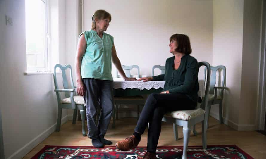 Christine Hughes (left) and Jill Simpson.