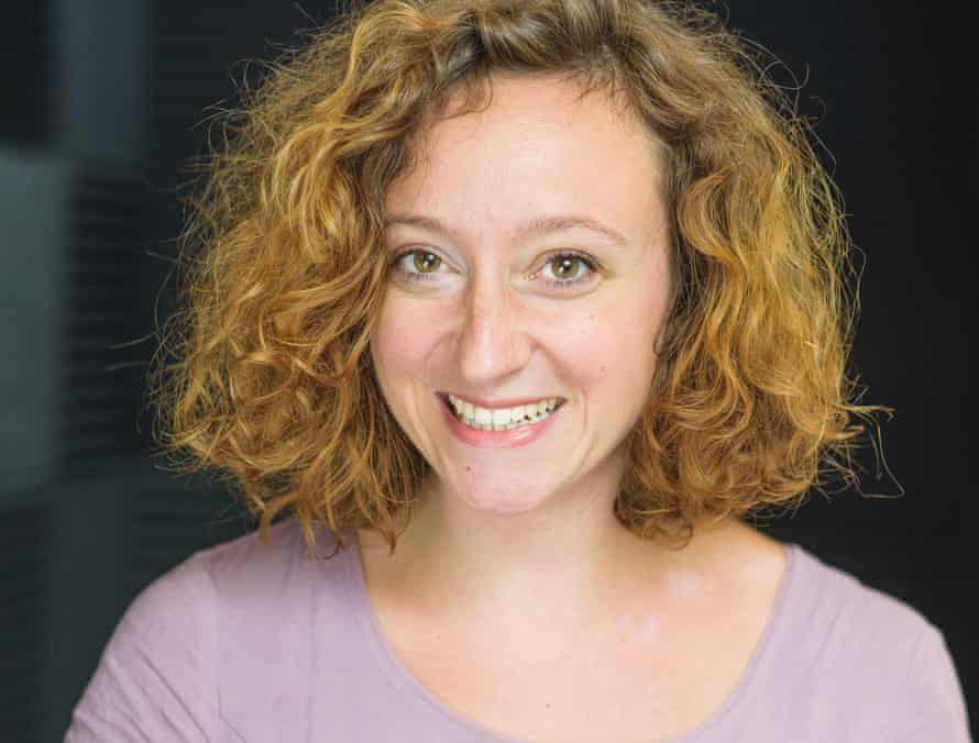 Kaitlin Prest, creator of The Shadows, a 'whirl of reality, spoken word, improvisation and effects'.