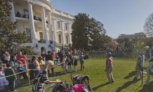 The American Egg Board provided 14,000 eggs for the annual White House Easter egg roll this year.