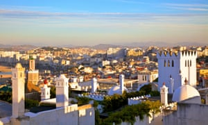 Tangier in Morocco, where two people have been arrested in a separate case suspected of facilitating illegal migration.