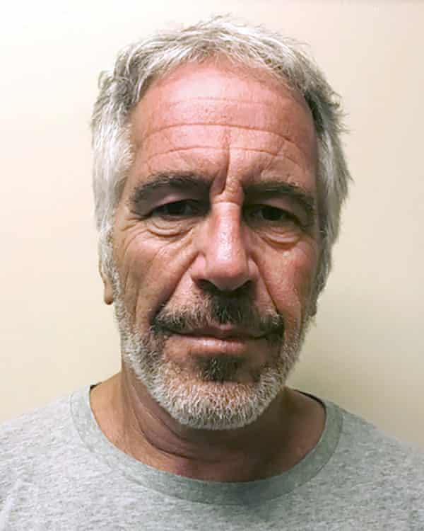 Jeffrey Epstein, in a photo provided by the New York State Sex Offender Registry.