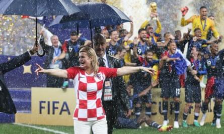 Kolinda Grabar-Kitarović at the World Cup