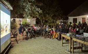 A screening in Tambacounda.