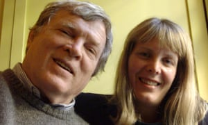 Don Pennebaker and his wife Chris Hegedus, with whom he collaboratored on a string of documentaries, photographed in 2003 while promoting Down From the Mountain.