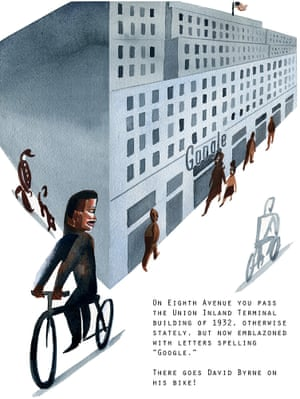 NYC by bike, by Marcellus Hall