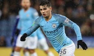 Manchester City's Brahim Díaz