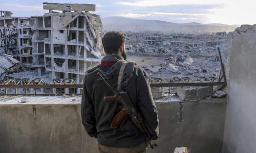 Syria war zone