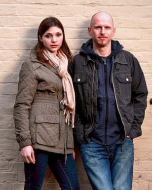 Emerald O'Hanrahan and Barry Farrimond as Emma and Ed Grundy in The Archers.