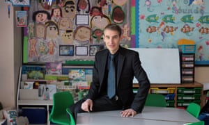 Ian Bennett, headteacher of Downshall primary school, in Ilford, Essex.