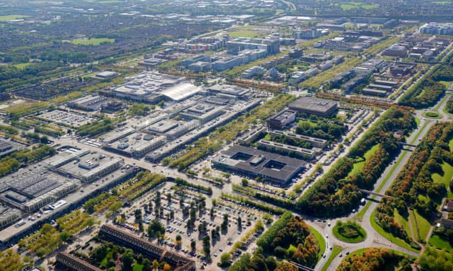 View of Milton Keynes