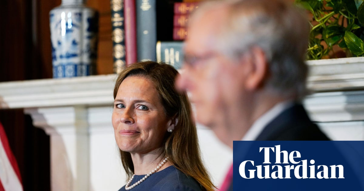 Amy Coney Barrett claims supreme court 'not comprised of partisan hacks'