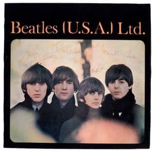 US souvenir tour booklet, signed by all four, August 1965