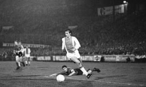 Johan Cruyff in 1968