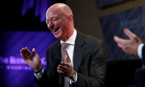 'Bezos cackles from inside his cartoonishly large mansion as cities and states desperately compete to shower his company with the maximum amount of public subsidies.'