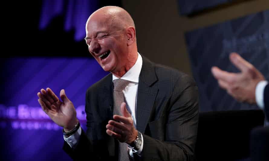 Jeff Bezos, the world's richest man, in Washington.