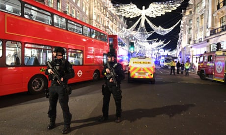 Oxford Circus: police stood down after incident in central London