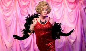 Killer tune … Douglas Hodge as Albin in La Cage aux Folles at the Playhouse, London, in 2008.