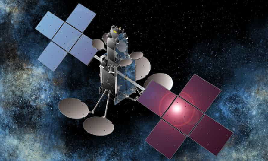File photo of a National Broadband Network satellite