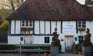 The Three Chimneys pub, Biddenden.