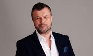 Petroc Trelawny of Radio 3's Breakfast programme