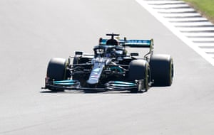 Lewis Hamilton gets a 10-second penalty.