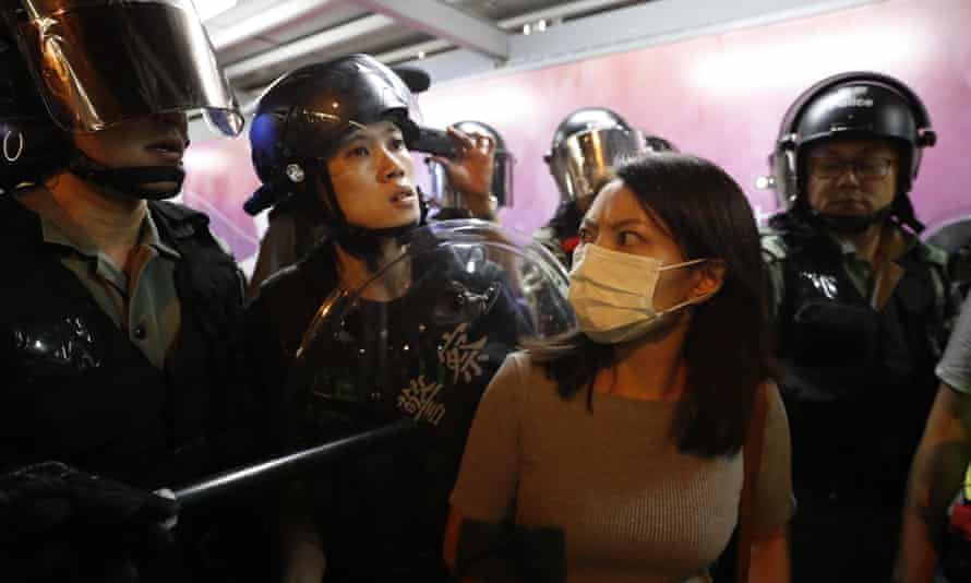 Many protesters in Hong Kong want the government to hold an inquiry into alleged police brutality.