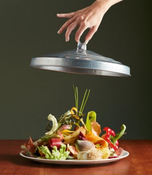 Lifting the lid on a plate of vegetable waste