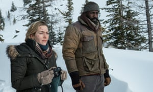 High anxiety … Kate Winslet and Idris Elba.