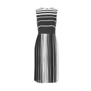Pleated midi dress, £59, topshop.com.