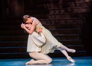 Matthew Ball and Lauren Cuthbertson in Romeo and Juliet.