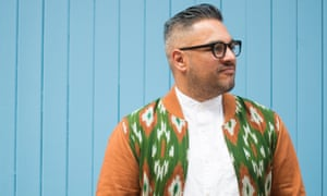 Comedy, anxiety and contradictions … Nikesh Shukla.