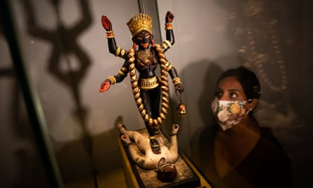 'Kali striding Shiva' at Tantra: Enlightenment to Revolution at the British Museum