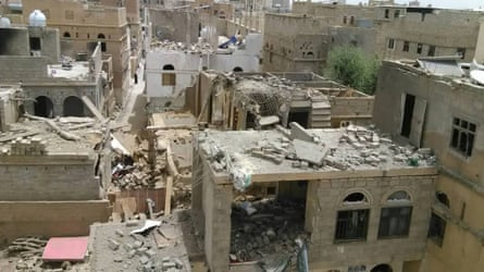 Al Makhaathi's neighbourhood in Amran