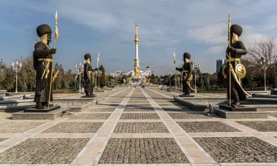 The capital of Turkmenistan is jokingly referred to as the 'city of the dead'.