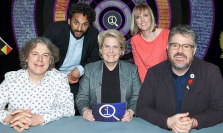 The BBC's QI recently appointed Sandi Toksvig as its presenter