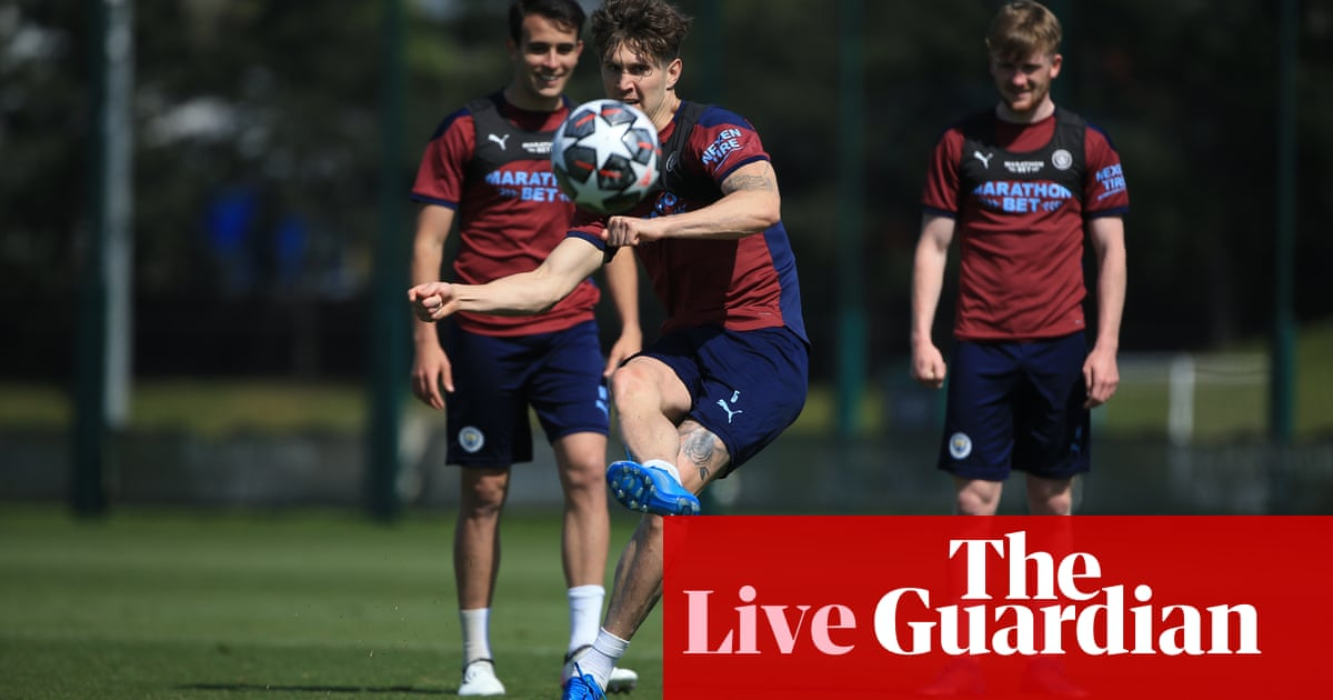 Manchester City could wrap up title, Premier League news and more – live!