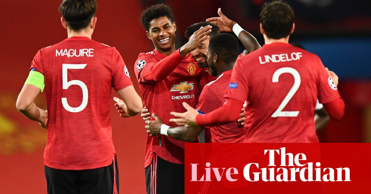 Manchester United 5-0 RB Leipzig: Champions League – live reaction!