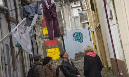 """Margarida Castro says that walking through her city and debating with tourists from other cities """"keeps [her] ideas in check"""""""