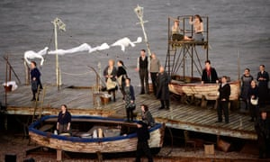 Aldeburgh festival's production of Grimes Live On The Beach, currently available via iPlayer in the UK