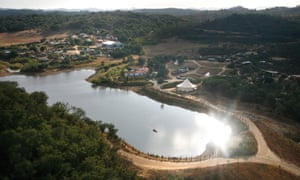 The Tamera site covers 330 acres in southern Portugal and is home to 200 people.